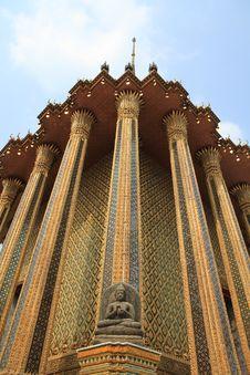 Grand Palace In Bangkok,Thailand. Royalty Free Stock Images