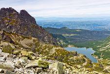 Free Mountain Landscape Royalty Free Stock Image - 18843856