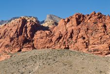 Free Red Rock Canyon 2 Stock Photo - 18844420