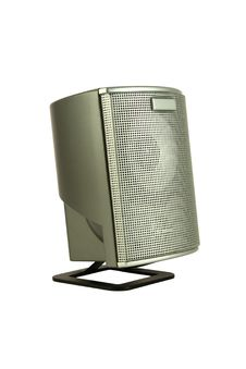 Free Silver Grid Speaker Side Royalty Free Stock Photography - 18844477