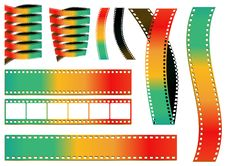 Free Colorful Film Royalty Free Stock Photo - 18846225