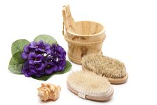Free Massage Brushes With Bristles Stock Image - 18847661