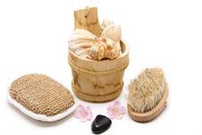 Free Massage Brush Royalty Free Stock Image - 18847736