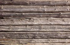Free Logs In The Wall. A Structure Royalty Free Stock Images - 18847909