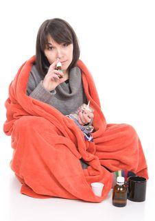 Free Sick Woman Stock Photos - 18847943