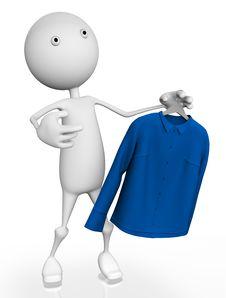 Free New Shirt Royalty Free Stock Photo - 18848555