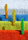 Free Four Cotton Towels Stock Photography - 18850252