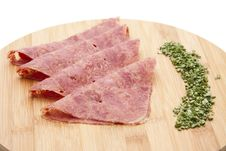 Free Corned Beef With Chives Stock Photos - 18851013
