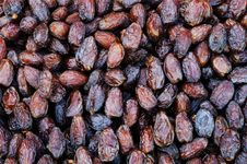 Free Dried Dates Stock Photography - 18851132