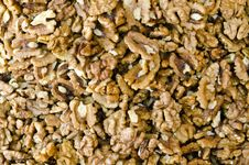 Free Bunch Of Walnuts Stock Photos - 18851153