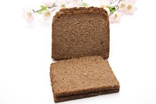 Free Wholemeal Bread With Flowers Stock Photos - 18851273