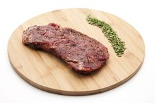 Free Steak Seasoned Stock Photography - 18851282