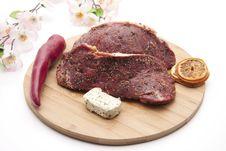 Free Steak Seasoned Stock Photography - 18851412