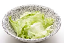 Free Lettuce Leaves Royalty Free Stock Image - 18851456