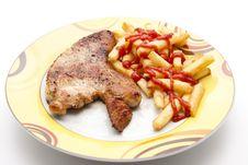 Free Turkey Hen Steak Stock Photography - 18851642