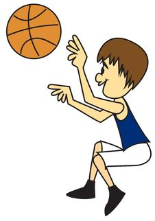 Free Boy Shooting Basketball Stock Images - 18852314