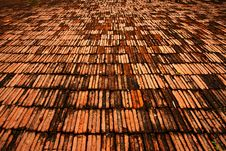 Free Pattern Of Brick Floor Royalty Free Stock Images - 18852589