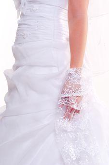 Free Beautiful Wedding Dress Royalty Free Stock Image - 18852946