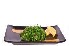 Free Plate With Chuka Salad Stock Photos - 18853913
