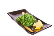 Free Plate With Chuka Salad Royalty Free Stock Photos - 18853918