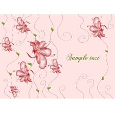 Free Floral Vector Banners Stock Image - 18854831