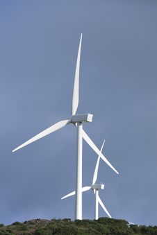 Free Wind Turbine Royalty Free Stock Photos - 18855818