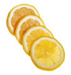 Free Fresh Lemon, Sliced. Royalty Free Stock Photos - 18856128