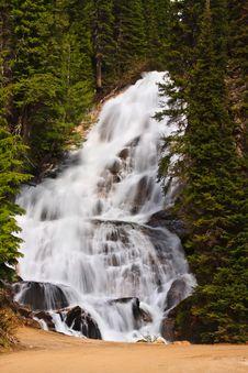 Free Skalkaho Falls Stock Image - 18856251