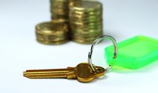 Key To Financial Success Stock Images