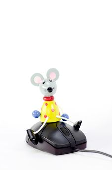 Mouse On Mouse Stock Images