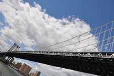 Free Manhattan Bridge Stock Photos - 18858253
