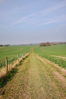 Free An English Rural Landscape Royalty Free Stock Photos - 18859028