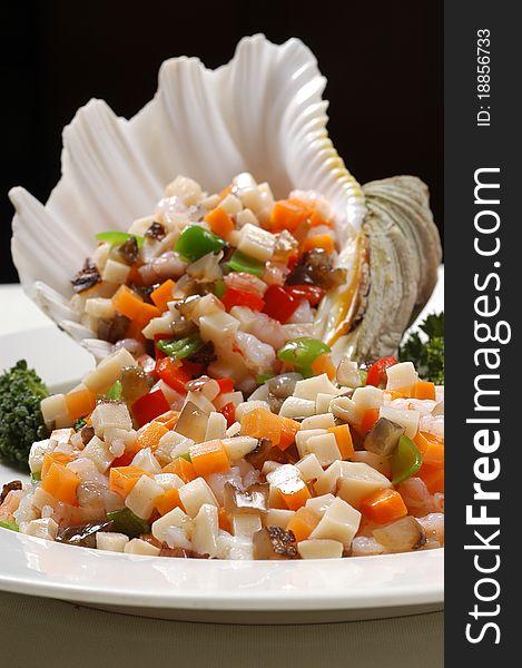 Seafood whelk