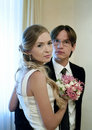 Free Portrait Of The Bride And Groom Stock Photography - 18862222