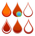 Free Medical Red Blood Drop Royalty Free Stock Photo - 18863015