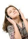 Free Listening Music Royalty Free Stock Photo - 18864315