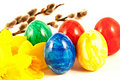 Free Painted Eggs. Royalty Free Stock Image - 18866106