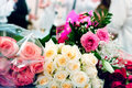 Free Beige And Pink Roses Royalty Free Stock Images - 18868029
