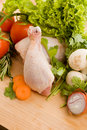 Free Chicken With Vegetables Royalty Free Stock Photos - 18868508