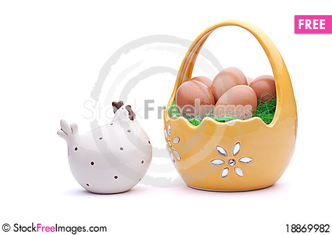 Free Easter Eggs Stock Photography - 18869982