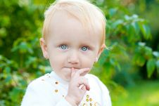 Free Sweet Baby Girl Stock Photography - 18861572