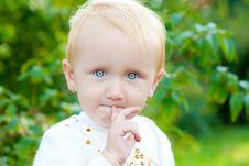 Free Sweet Baby Girl Stock Photography - 18861572