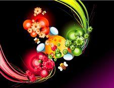Background Flower Illustration Royalty Free Stock Image