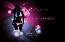 Fashion Woman Illustration Royalty Free Stock Photos