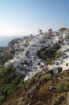Free Oia Cliff, Santorini Stock Photography - 18862262
