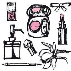 Free Cosmetics Royalty Free Stock Image - 18863476