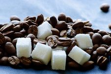Free Coffee And Sugar. Stock Photo - 18864500
