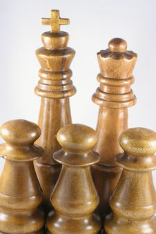 Free Chess Pieces Stock Photo - 18864560