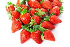 Free Bright Juicy Fresh Strawberries Royalty Free Stock Images - 18864579