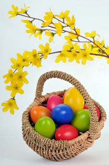 Free Easter Basket Stock Images - 18865224